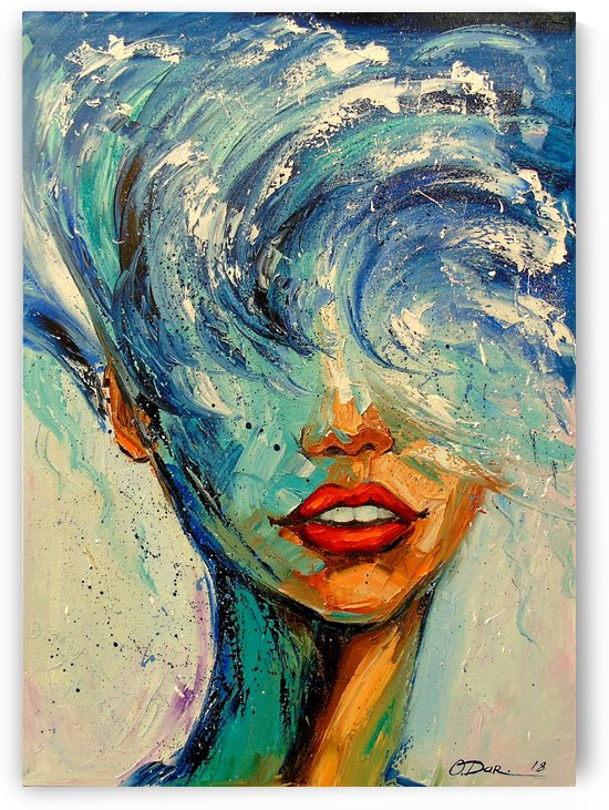 Girl wave by Olha Darchuk
