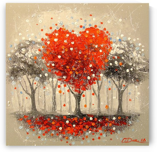 The tree of love by Olha Darchuk