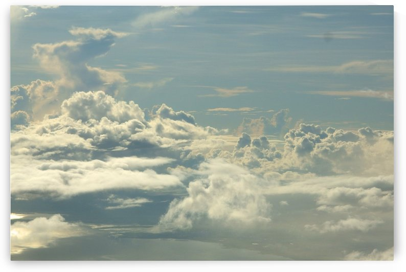 Landscapes - Clouds - 001 by Rich Lasam