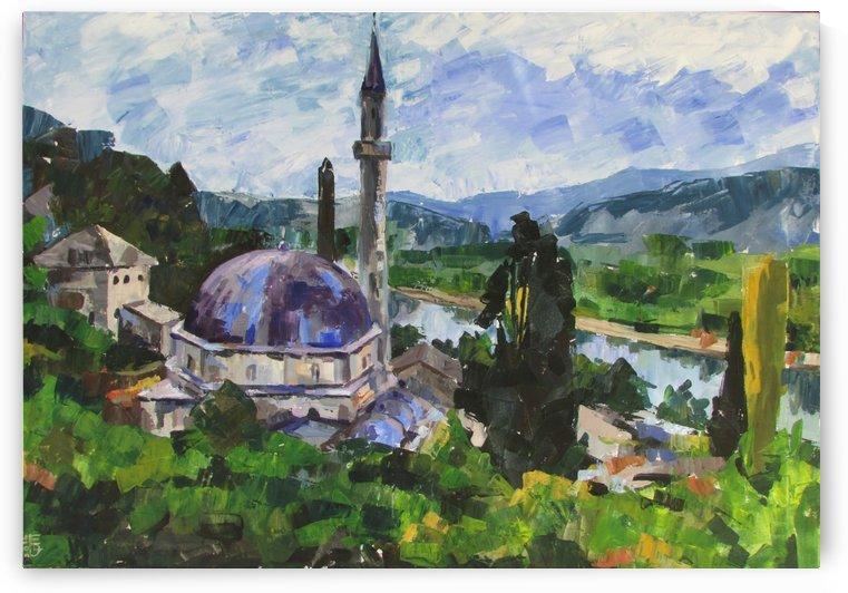 Old Mosque  by Kateryna Bortsova