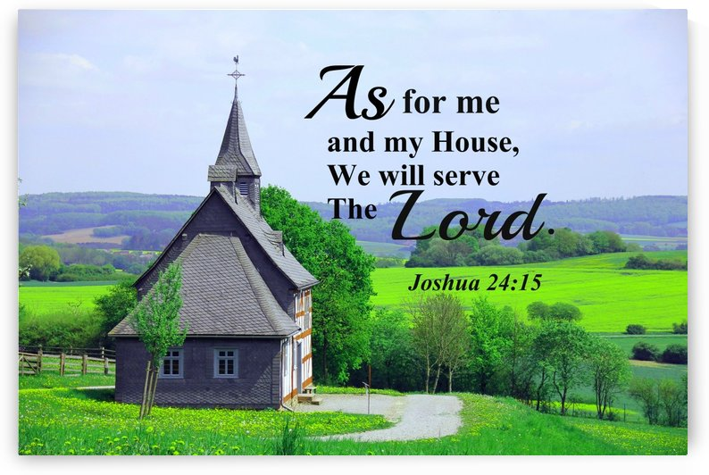 As for me and my house by Edifying Designs