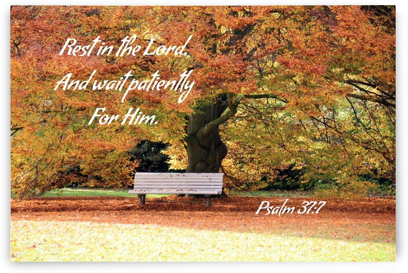 Rest in the Lord by Edifying Designs