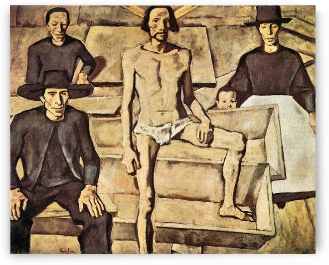 Resurrection of Christ by Albin Egger-Lienz by Albin Egger-Lienz