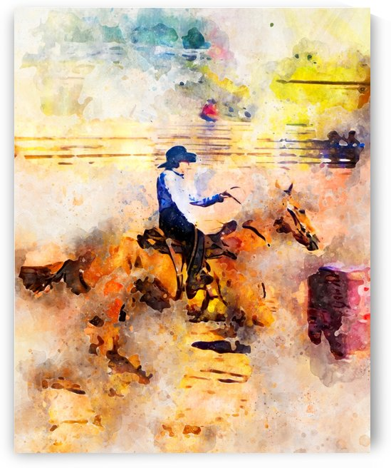 Rock Creek Rodeo Girl by Nancy Calvert