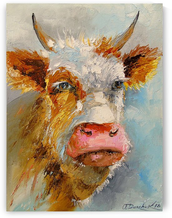 Young bull by Olha Darchuk