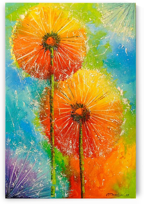 Dandelions by Olha Darchuk
