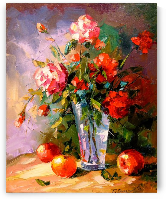 A bouquet of roses by Olha Darchuk