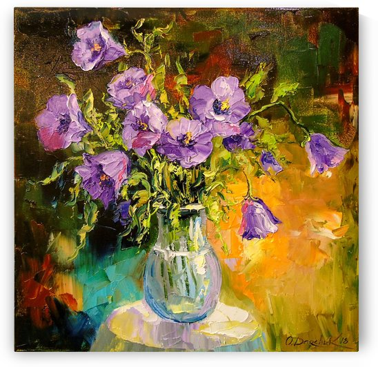 A bouquet of Bells by Olha Darchuk