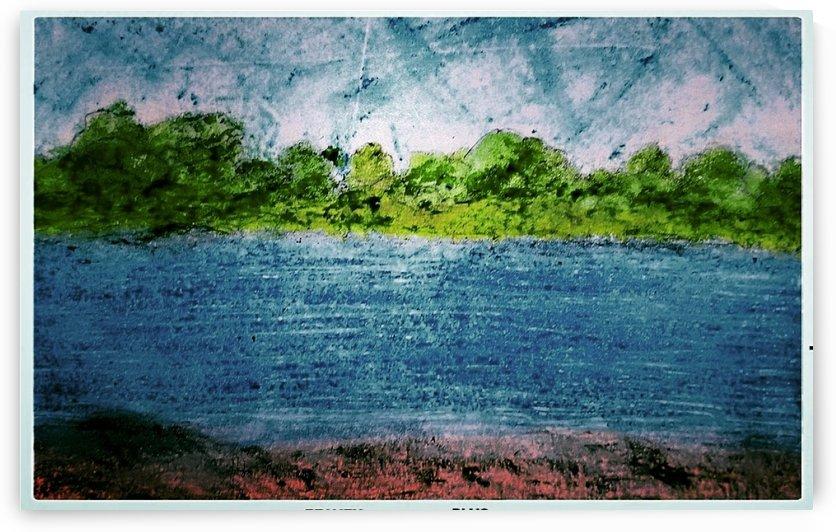 Across the Lake by djjf
