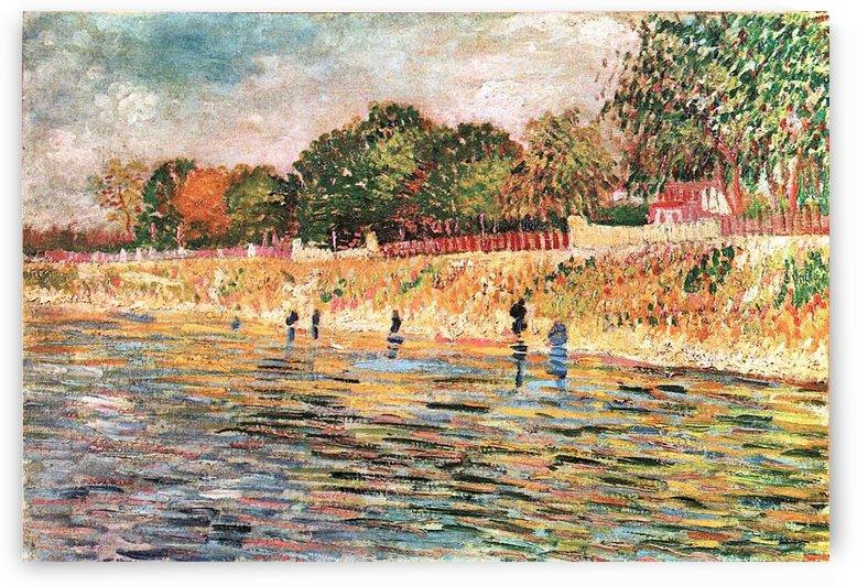 River bank by Van Gogh by Van Gogh