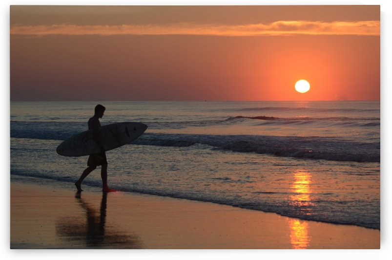 sunrise surfer 3 copy by Shore Shots by Jerry Hussar