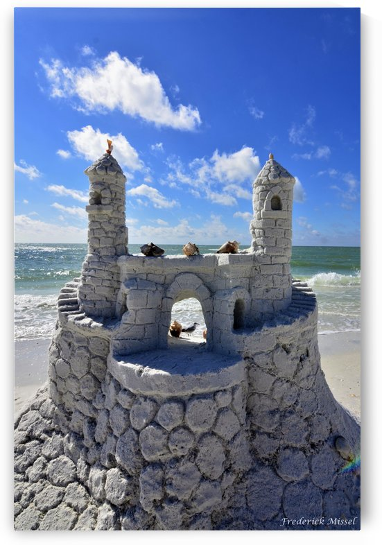 Sand Castle by Frederick Missel