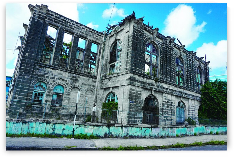 Bridgetown Abandoned Hospital by Estelle Images