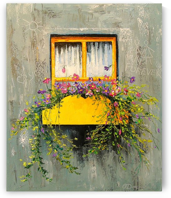 Blooming window by Olha Darchuk