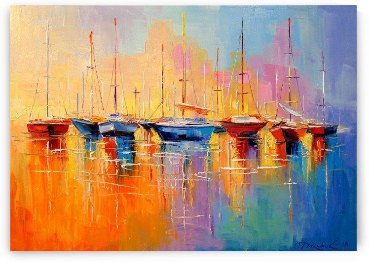Boats by Olha Darchuk