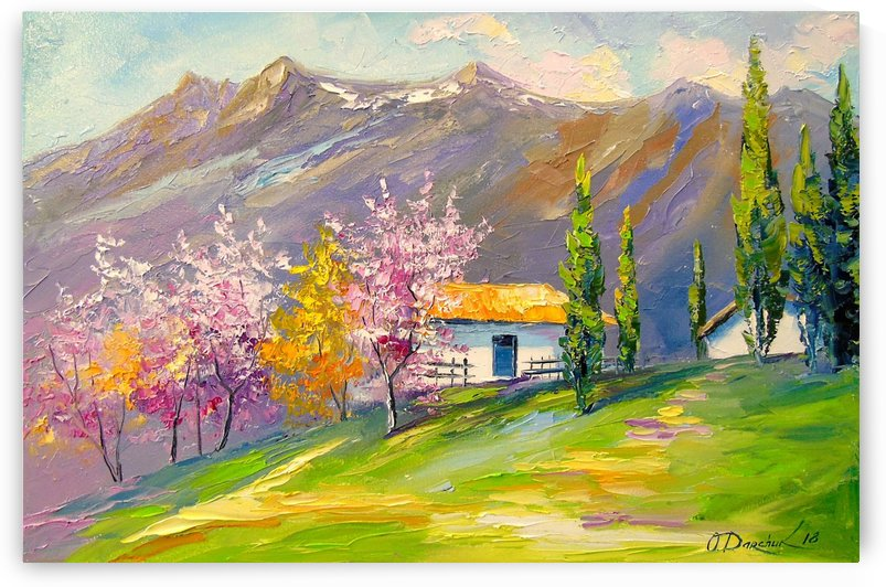 Spring in the mountains by Olha Darchuk