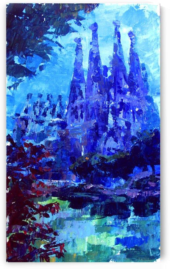 Barcelona. La Sagrada familia by Kateryna Bortsova