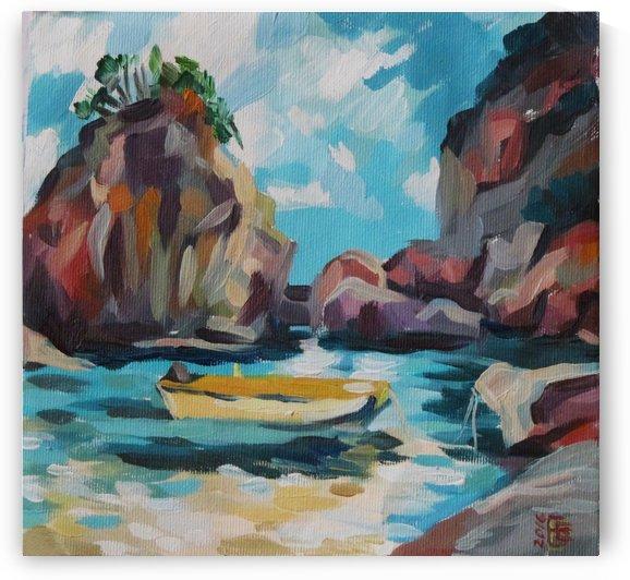 Sea by Kateryna Bortsova