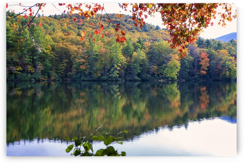 Trahlyta Lake Autumn by Alex Galiano