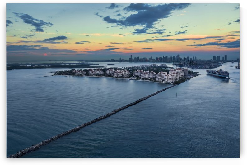 Fisher Island by Alex Galiano