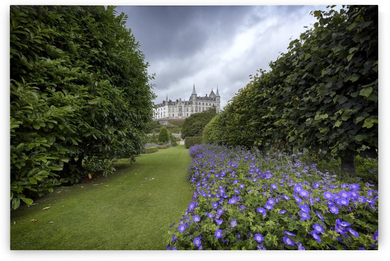 Dunrobin Castle Gardens by Alex Galiano