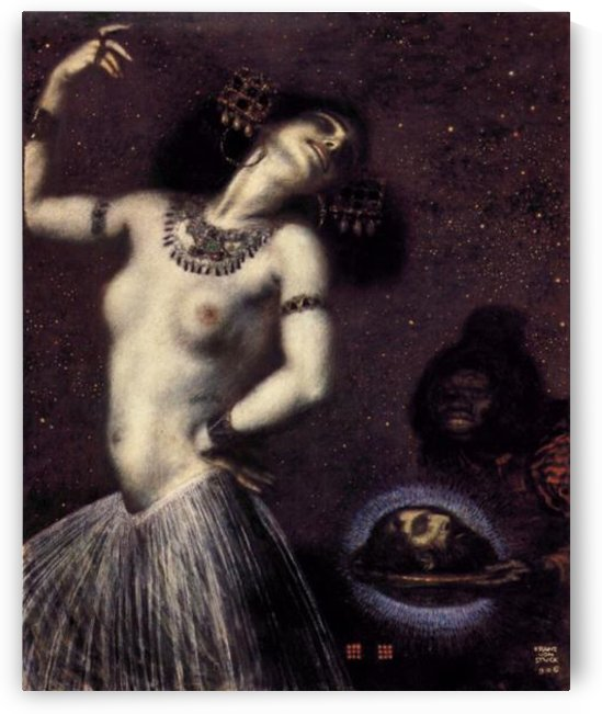 Salome by Franz von Stuck by Franz von Stuck