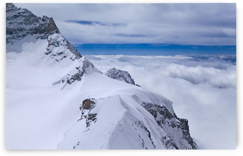 Jungfraujoch Top of Europe by Alex Galiano