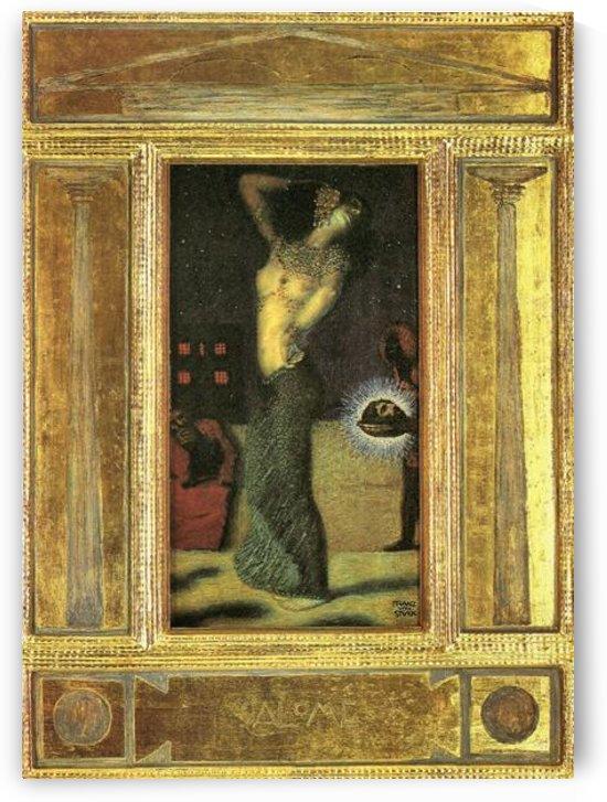 Salome I by Franz von Stuck by Franz von Stuck