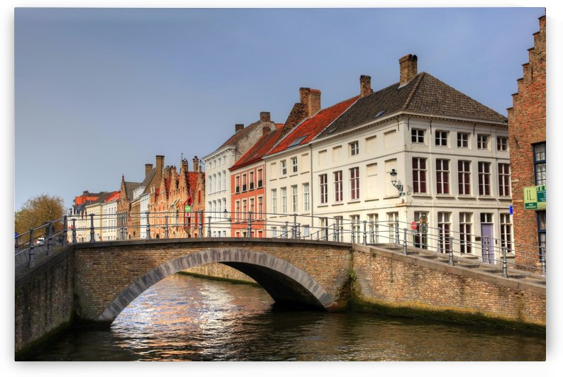 Bruges Bridges by Alex Galiano