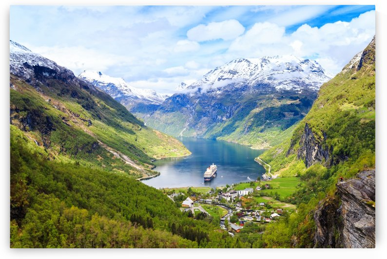 Geiranger Fjord by Alex Galiano