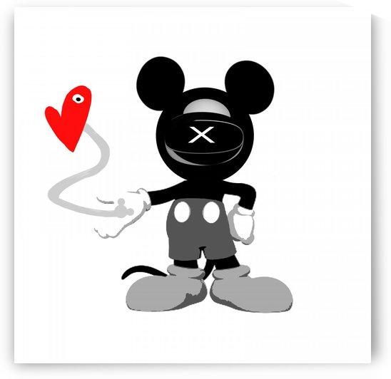 Cozmo Love Mickey by GABA