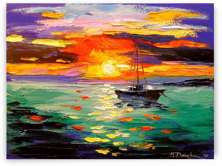 At sunset by Olha Darchuk