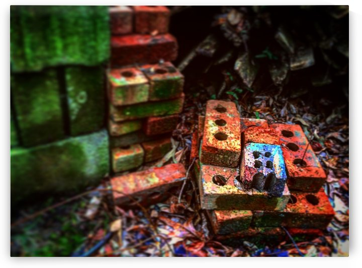 Colorful Bricks by DH Photo Concepts