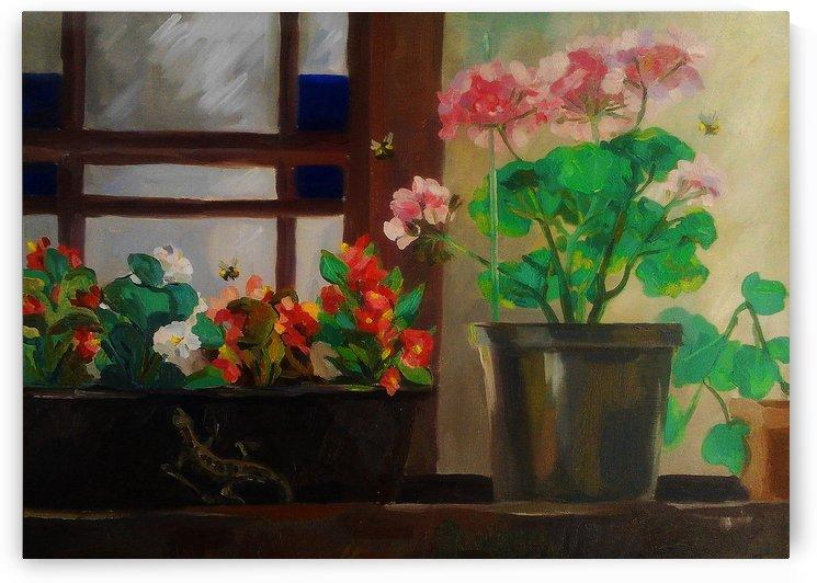 In the garden by Kateryna Bortsova