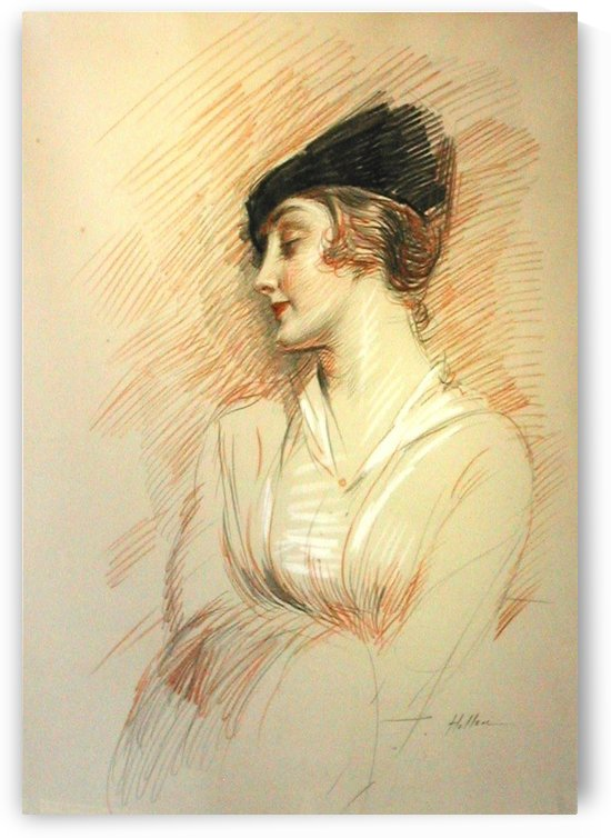 Madame Helleu by Paul Cesar Helleu
