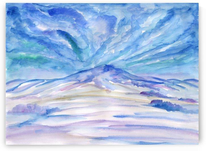 Winter clouds by Dobrotsvet Art