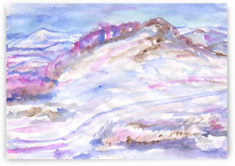 Frosty winter landscape by Dobrotsvet Art