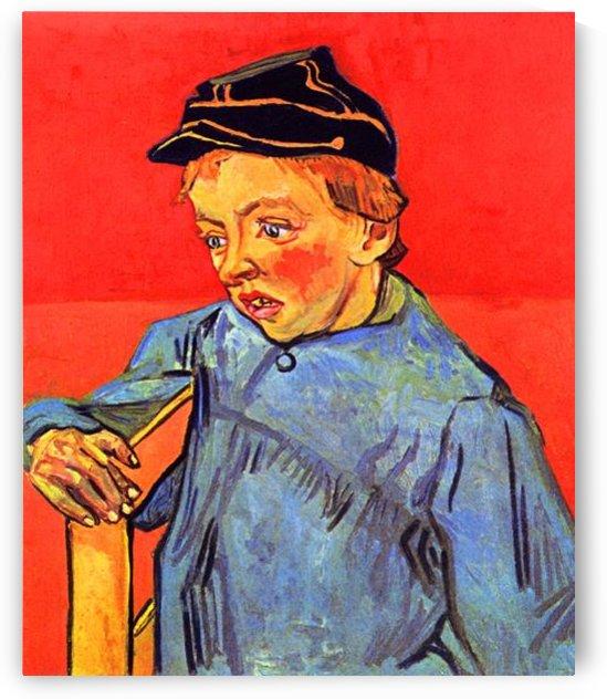 Schoolboy by Van Gogh by Van Gogh