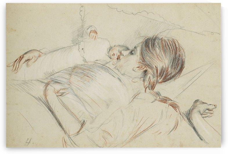 The Newborn Baby by Paul Cesar Helleu
