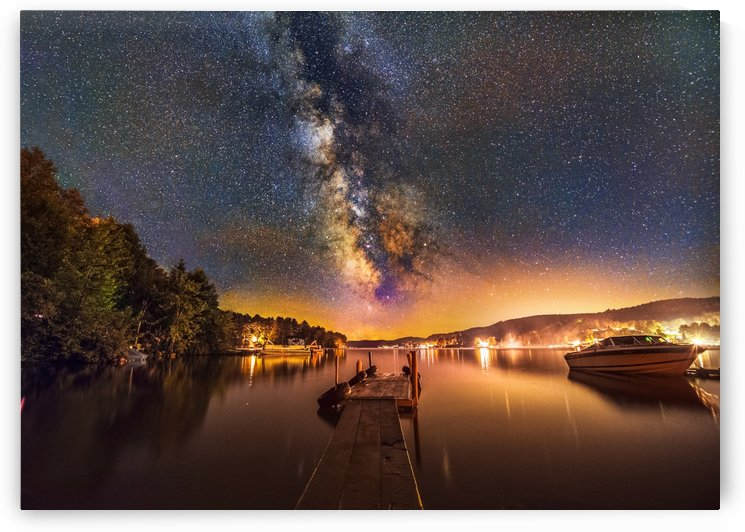 Lac Simon Milky Way 2 by Lrenz