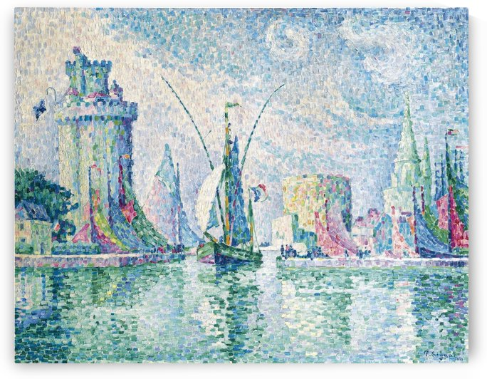 The Green Tower, La Rochelle by Paul Signac