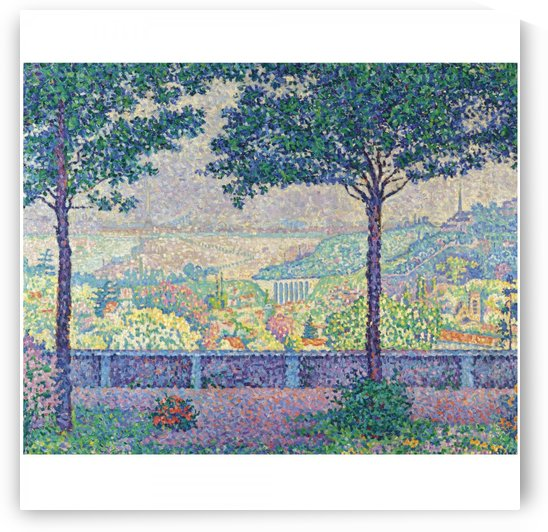 Terrace of Meudon by Paul Signac