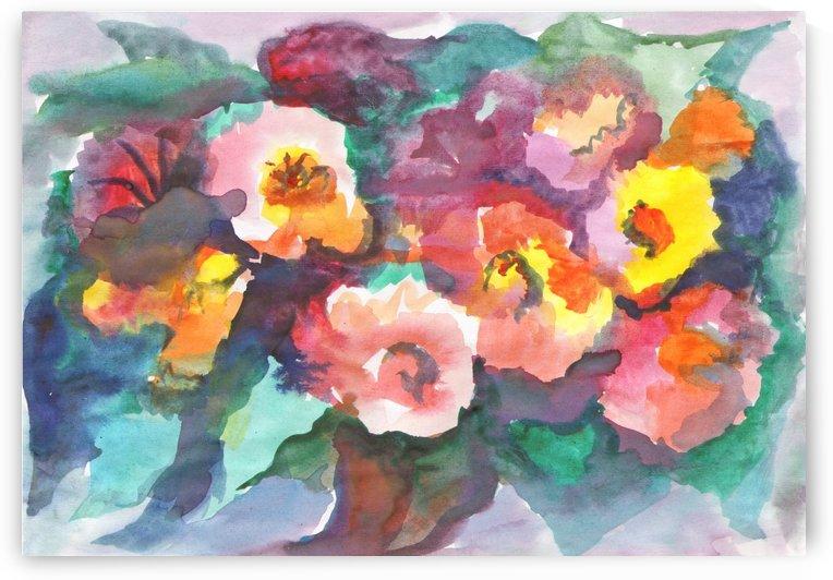 Summer bouquet by Dobrotsvet Art