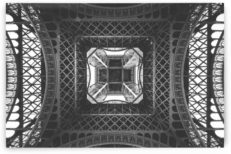 Eiffel tower by Attila R  Kovacs