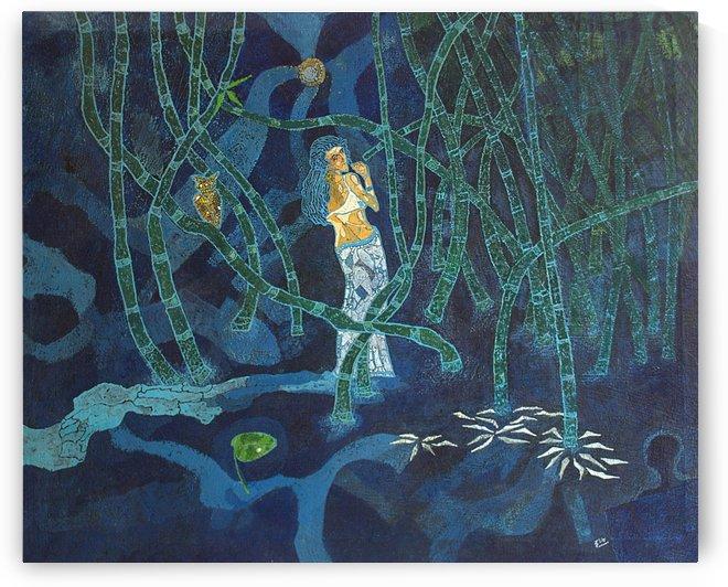 Blue Shadows by Raj Chowdhury
