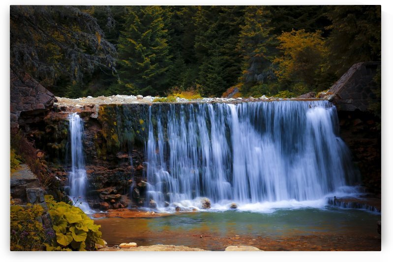 Waterfall wall by DroneVue360