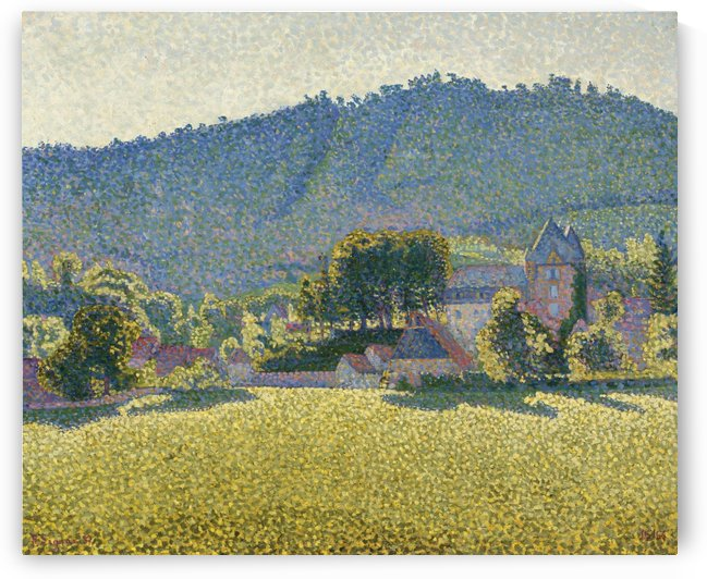 Comblat-le-Chateau. The Valley by Paul Signac