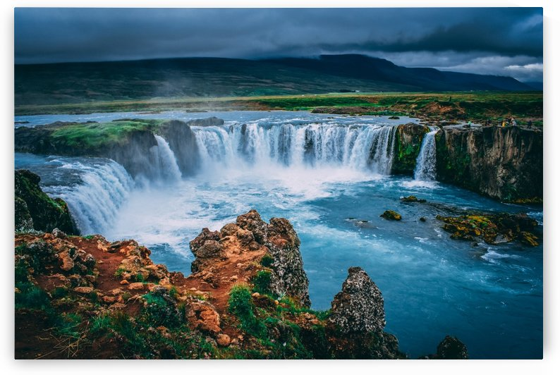 Iceland mist  by DroneVue360