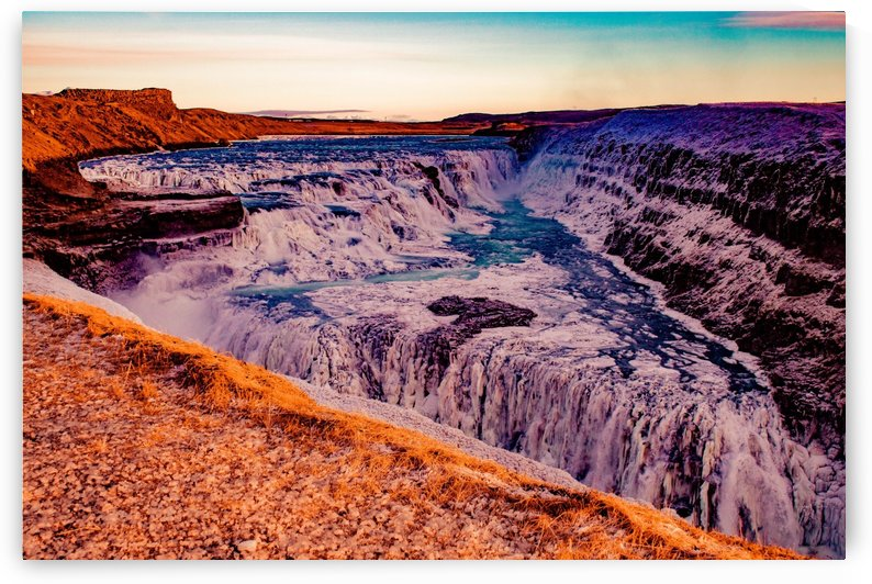 Painted Falls by DroneVue360