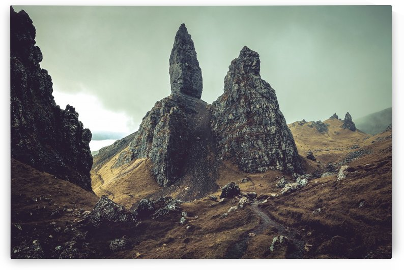 The Old Man of Storr by Attila R  Kovacs